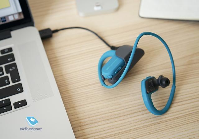 Один из моих лайфхаков - спортивный MP3-плеер Sony NW-WS413