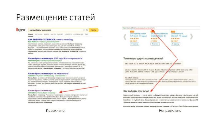 Транскрибация и видео вебинара Алексея Чекушина по коммерческим и информационным ключевым запросам