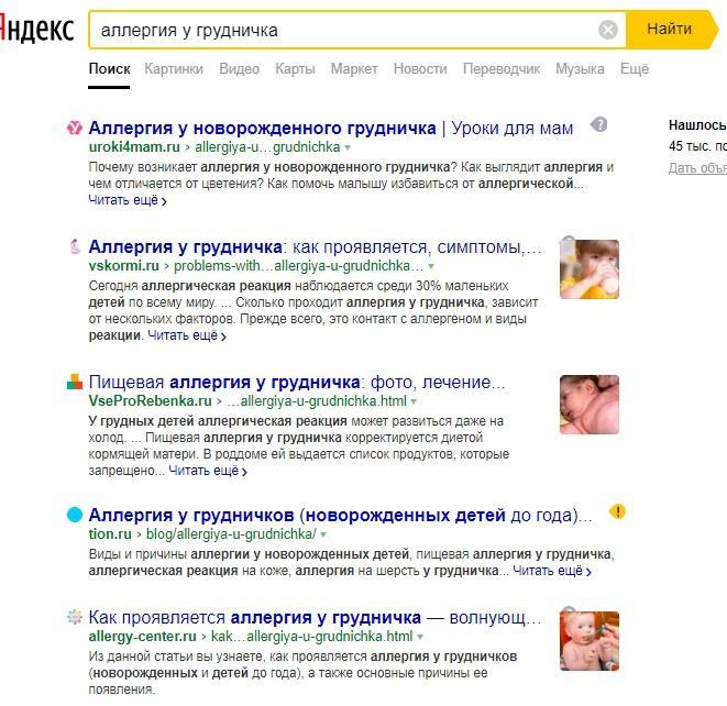 Анализ поисковой выдачи по ключевому запросу